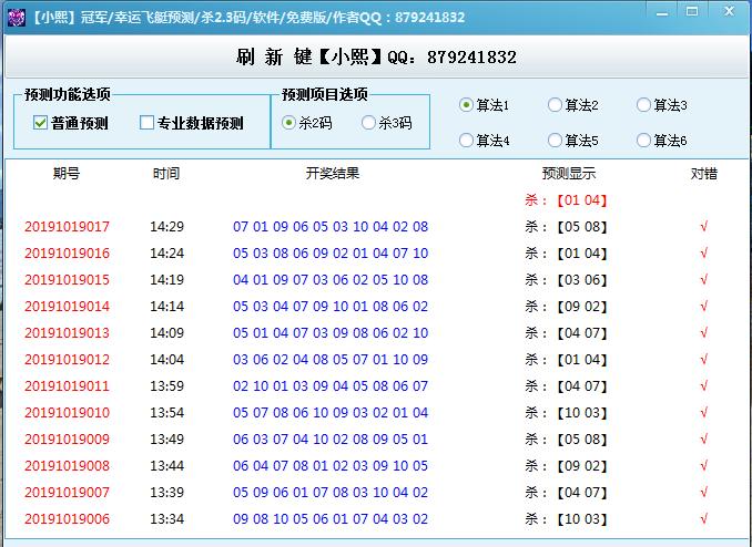 【小熙28】幸运飞艇10杀号预测_6组算法选择_连中率超高_稳定中…(更新)